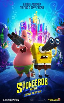 دانلود انیمیشن The SpongeBob Sponge on the Run 2020