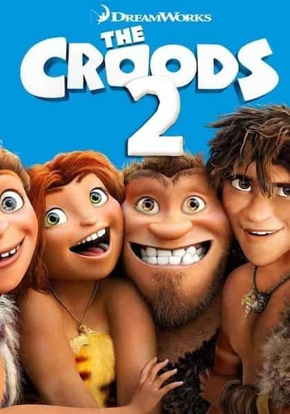 دانلود کارتون غارنشینان 2 دوبله فارسی The Croods 2 A New Age