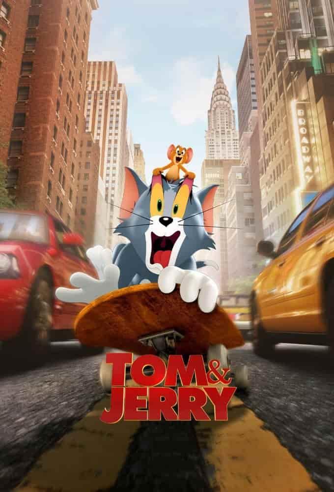 دانلود انیمیشن تام و جری Tom and Jerry 2021 دوبله فارسی