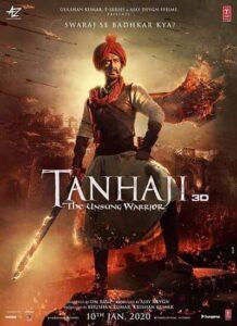 دانلود فیلم هندی تانهاجی دوبله فارسی Tanhaji 2020