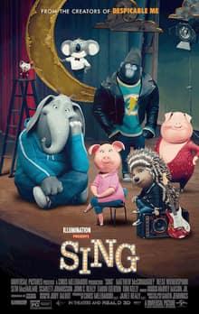 دانلود انیمیشن آوازخوانان Sing 2016