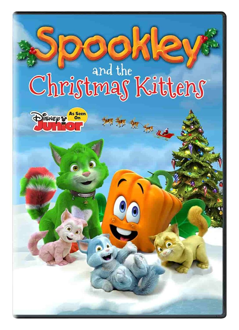دانلود انیمشین Spookley and the Christmas Kittens 2019