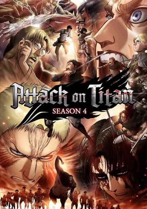 دانلود فصل چهارم انیمیشن نبرد تایتان ها Attack on Titan