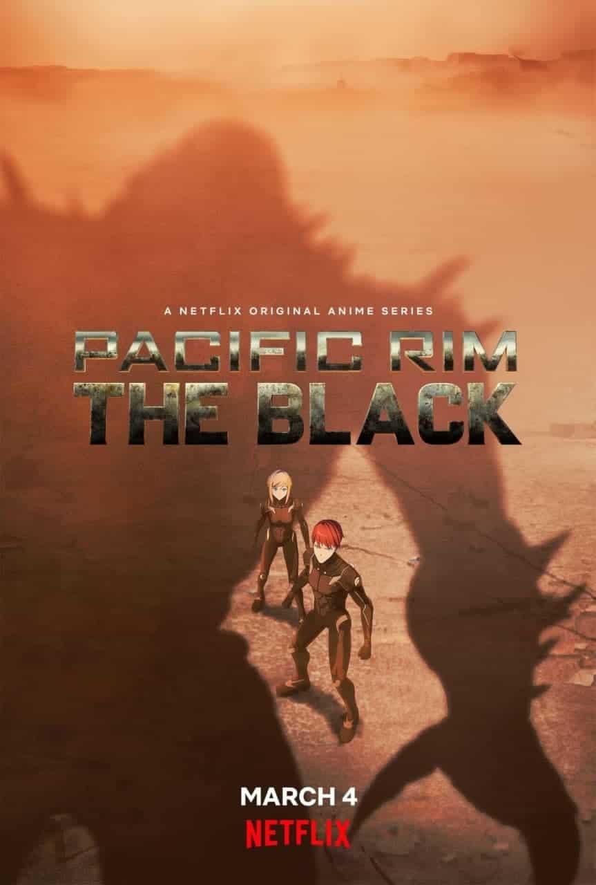 دانلود انیمیشن اقیانوس آرام سیاه Pacific Rim: The Black