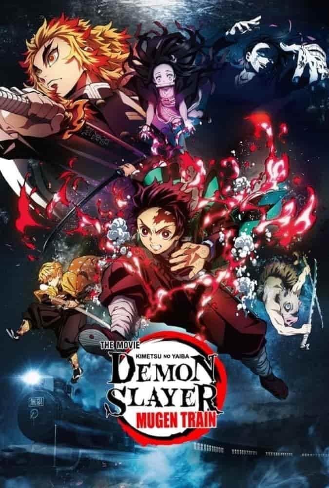 دانلود انیمیشن شیطان کش Demon Slayer: Mugen Train 2021